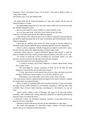 stepan-linz-yadav-reading-notes-doc