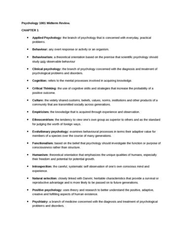 psychology-1001-midterm-review-docx