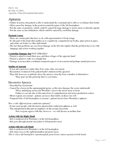 06-may-12-2014-apraxia-visuo-perceptual-disorders-docx