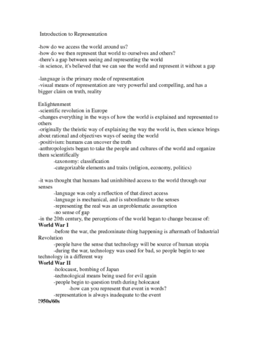introduction-to-representation-lecture-note-anth-2120-docx