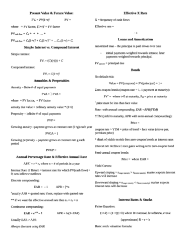 exam-1-formulas-fin-302