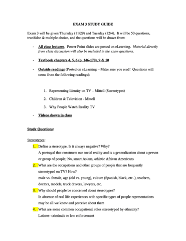 psy 387 study guide first exam Psychology 101 study guide, exam #1 chapter 1: the science of mind i psychology 1 what is psychology 2 scientific study ii ways of classifying psychologists.