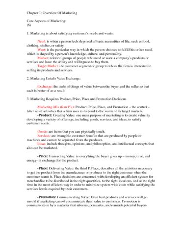 marketing-exam-notes