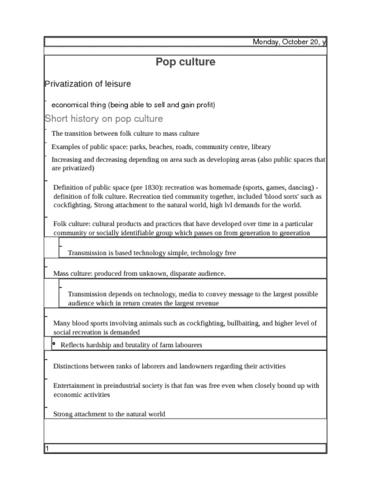 soc exam notes pop culture essay docx oneclass pop culture docx
