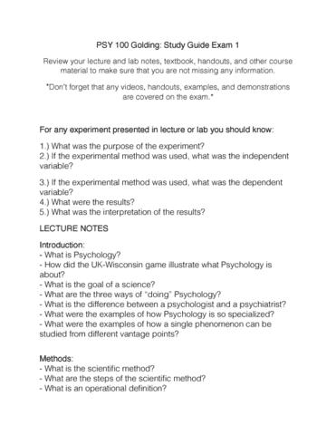 exam-one-study-guide-pdf