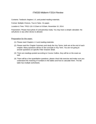 itm330-midterm-f2014-review-docx
