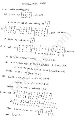 mat223-midterm-2-2013-fall
