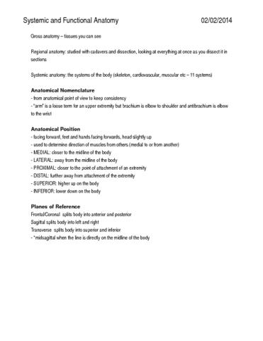 anatomy-2222-health-science-2300-summary-docx