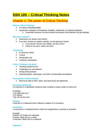 ssh-105-exam-review-docx