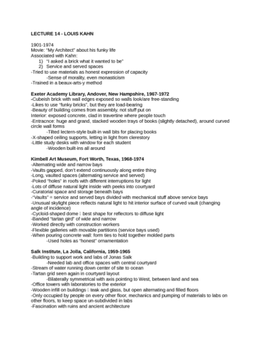 lecture-14-louis-kahn-docx