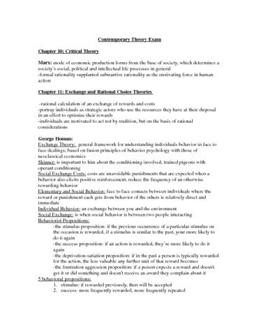 soc3310-final-contemporary-theory-exam-doc
