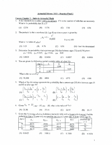 actuarial-science-2053-final-practiceexam-2-pdf