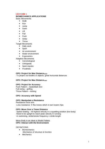 kinesiology-2241a-b-midterm-biomechanics-lecture-notes-midterm-1