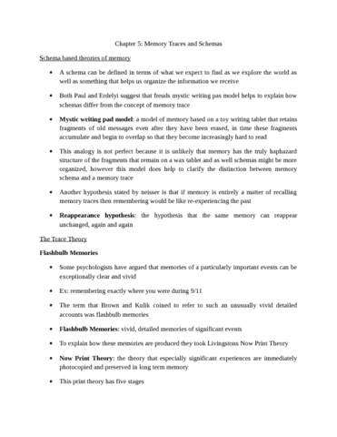 psyc221-chapter-5-memory-traces-and-schemas-docx