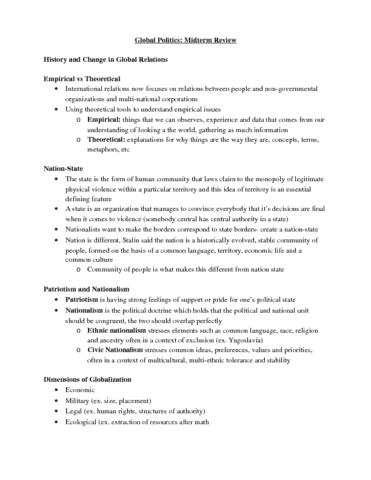 pol-sci-2i03-midterm-global-politics-midterm-review