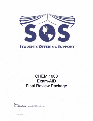 chem-1000-final-practice-exam-package