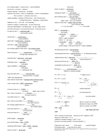 fin300-midterm-fin-300-midterm-cheat-sheet