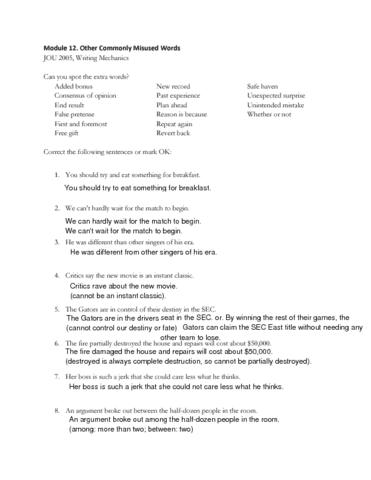 Jou 2005 Midterm 11baffect Effectworksheet Oneclass