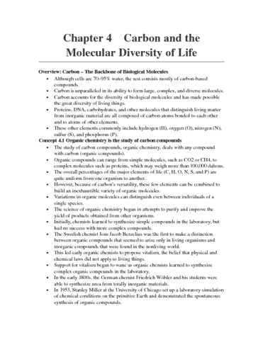bio-1305-chapter-4-chapter-4-carbon-and-the-molecular-diversity-of-life