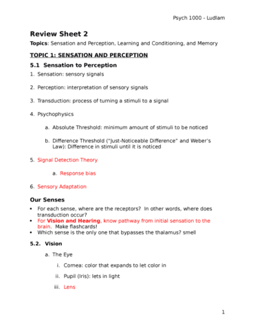 psych-1000-lecture-1-exam-2-review-sheet