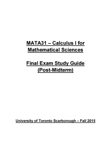 mata31-final-comprehensive-30-page-final-exam-study-guide-post-midterm-fall-2015