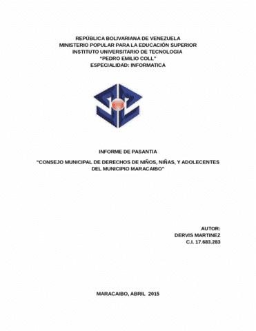 cis-3282-lecture-99-informe-final-de-pasantia