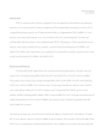 biol lecture notes biol lecture fly lab report  biol 2070 lecture 4 biochem lab report thiveka