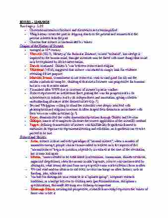 hps211h1-lecture-1-lecture-notes-01-13-2016