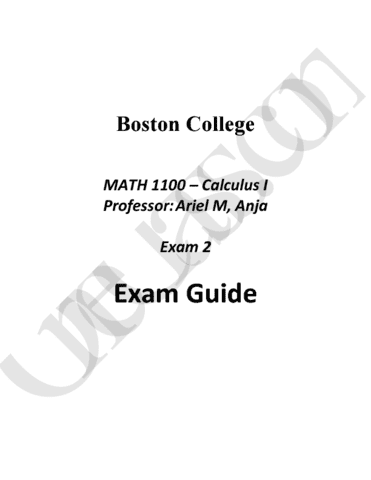 math1100-midterm-complete-and-comprehensive-10-page-exam-2-study-guide-spring-2016