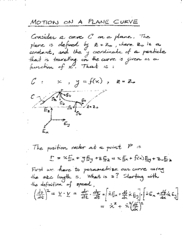 civ-eng-2q03-lecture-2-application-of-tnb-basis-motion-on-a-plane-curve
