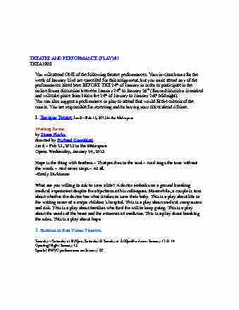 thea-1900-lecture-6-theatre-and-perf-play-list-1-and-instructions-2015-1