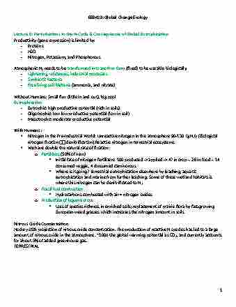 eeb428h1-final-complete-lecture-tutorial-notes-week-6-10-