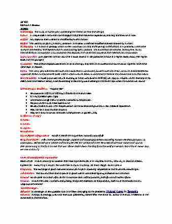 ar-100-final-ar-100-exam-1-study-guide