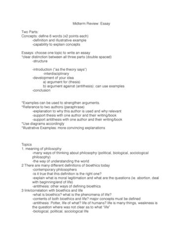 phi exam notes phi midterm midterm essay questions phi2396 exam notes phi2396 midterm midterm essay questions oneclass