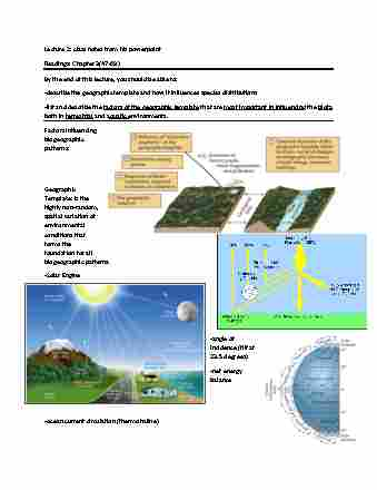 geography-2320a-b-midterm-chapter-2-review