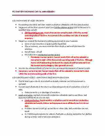 fis403-chapter-6-fis-chapter-6-working-capital-management
