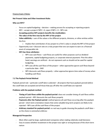 fin-357-midterm-finance-exam-3-notes