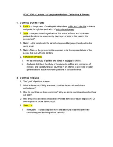 po-sc-1040-lecture-1-comparitive-politics-definitions-and-themes
