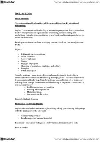 mgb200-exam-notes