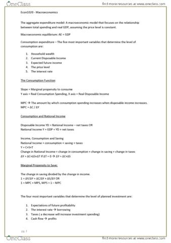macroeconomics-final-exam-study-notes