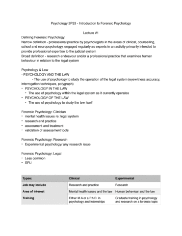 psyc-3p53-lecture-1-forensic-lecture-1-sept-10