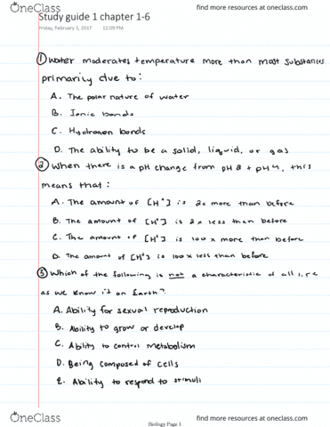 biol-1020-midterm-bio-exam-test-one-study-guide-chapters-1-6