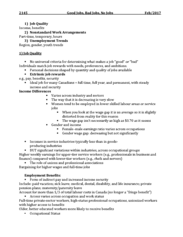 sociology-2145b-lecture-5-job-quality-class-4