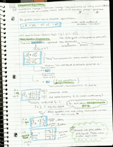 ch-302-lecture-8-chemical-equilibria-mass-action-expression-hand-written-notes-feb-9