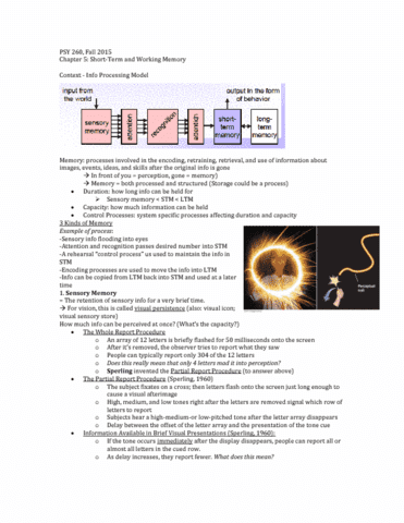 psy-260-lecture-5-chapter-5-notes