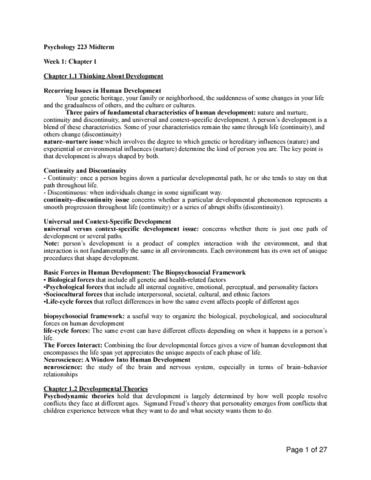 psyco223-midterm-psychoogy-223-midterm-notes