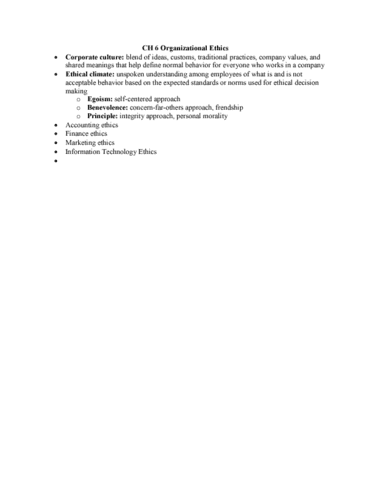 mgmt-2850-chapter-6-ch-6-organizational-ethics