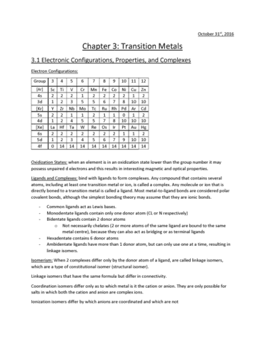 chemistry-1301a-b-chapter-3-3-1-electronic-configurations-properties-and-complexes