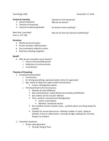 psychology-1000-lecture-16-nov-17-lec-notes