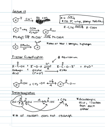 chem-262-lecture-13-esterification-and-decarboxylation